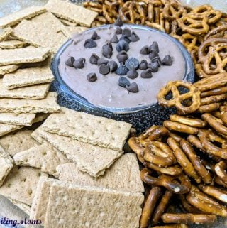 Butterfinger Brownie Dip