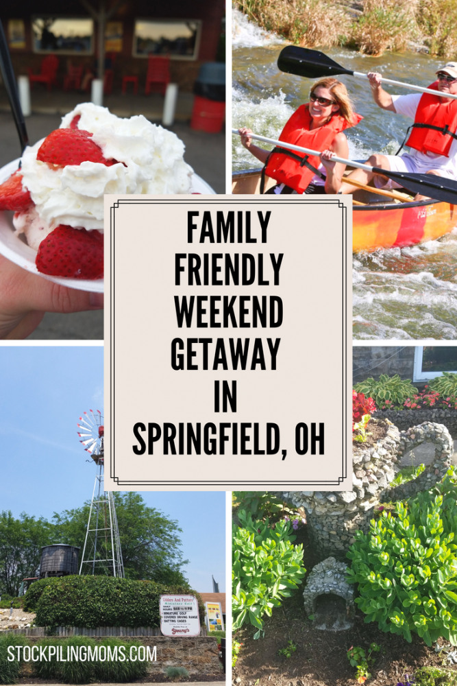 Family Friendly Getaway in Springfield, OH