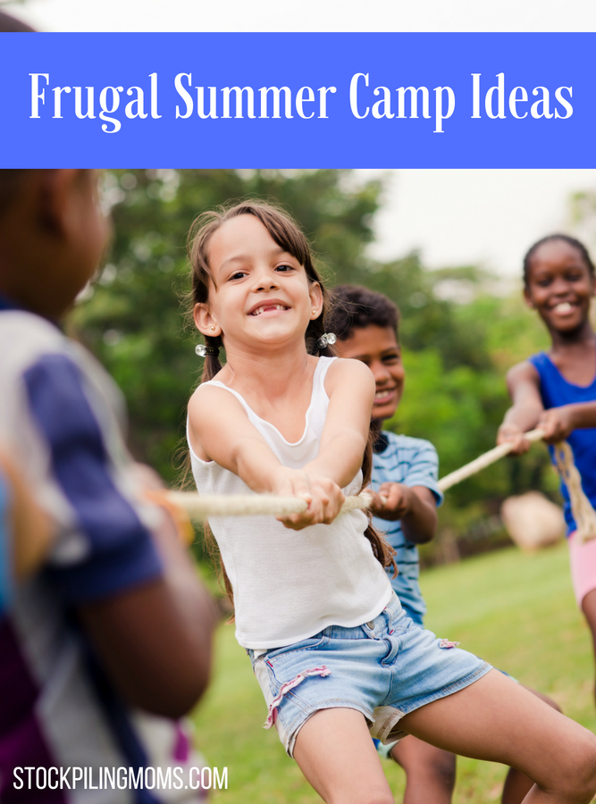 Frugal Summer Camp Ideas for Your Kids
