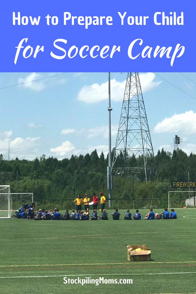 Check out our tips for How to Prepare Your Child for Soccer Camp! These are must needed tips for that first sleep away camp your kids will be attending this year!
