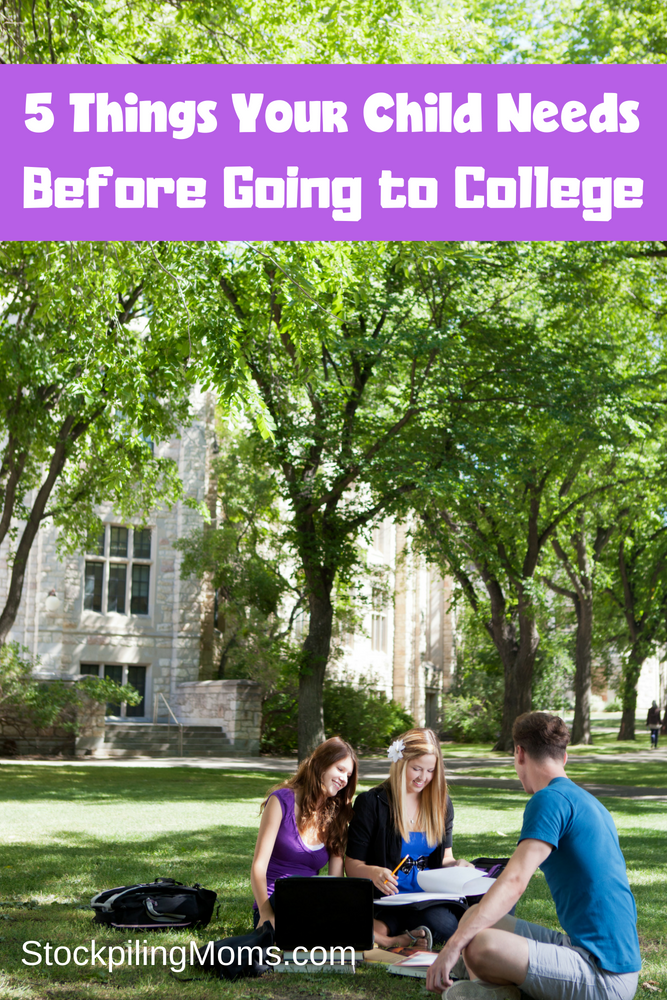 Don't miss our tips and Top 5 Things Your Child NEEDS before college! Parenting is so hard, but our top parenting tips will help you manage this change in life with eases
