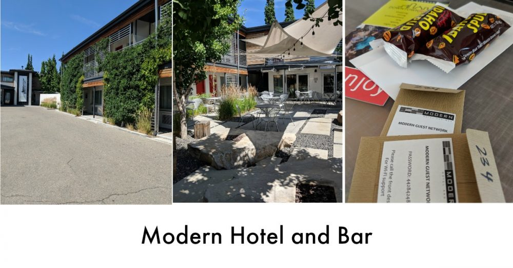 Modern Hotel and Bar in Boise, Idaho is perfect for the laid back traveler!