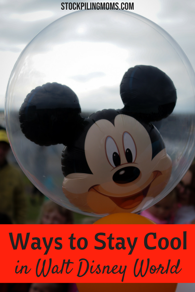 Ways to Stay Cool at Walt Disney World