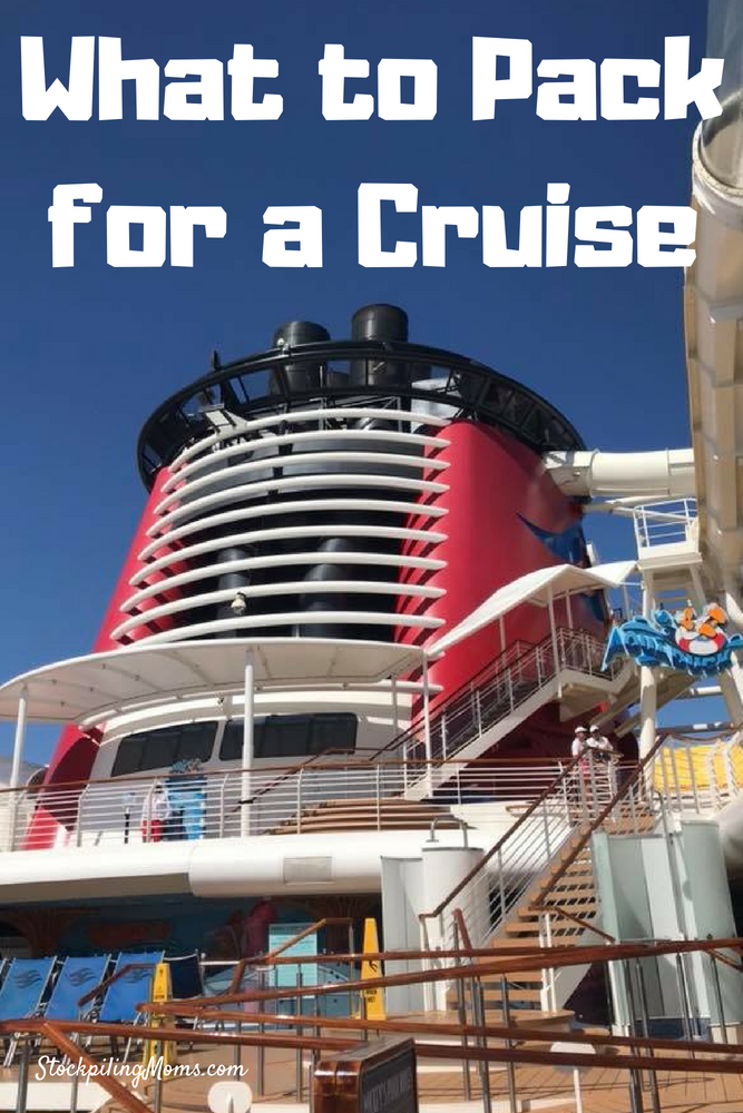 Don't miss our tips for what to pack for a cruise! This packing list is just what you need for a first time cruise with your family!