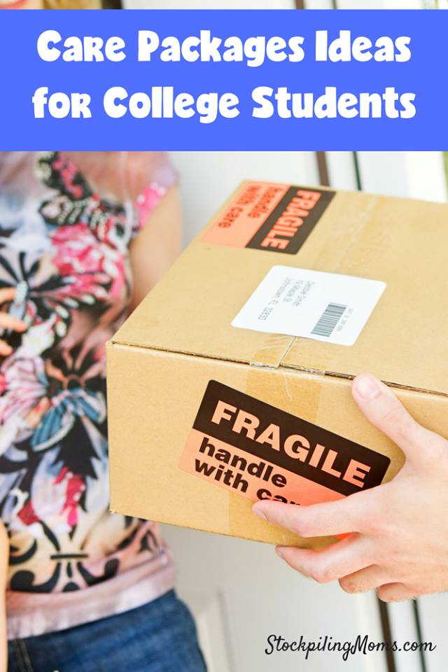 Care Package Ideas for College Students