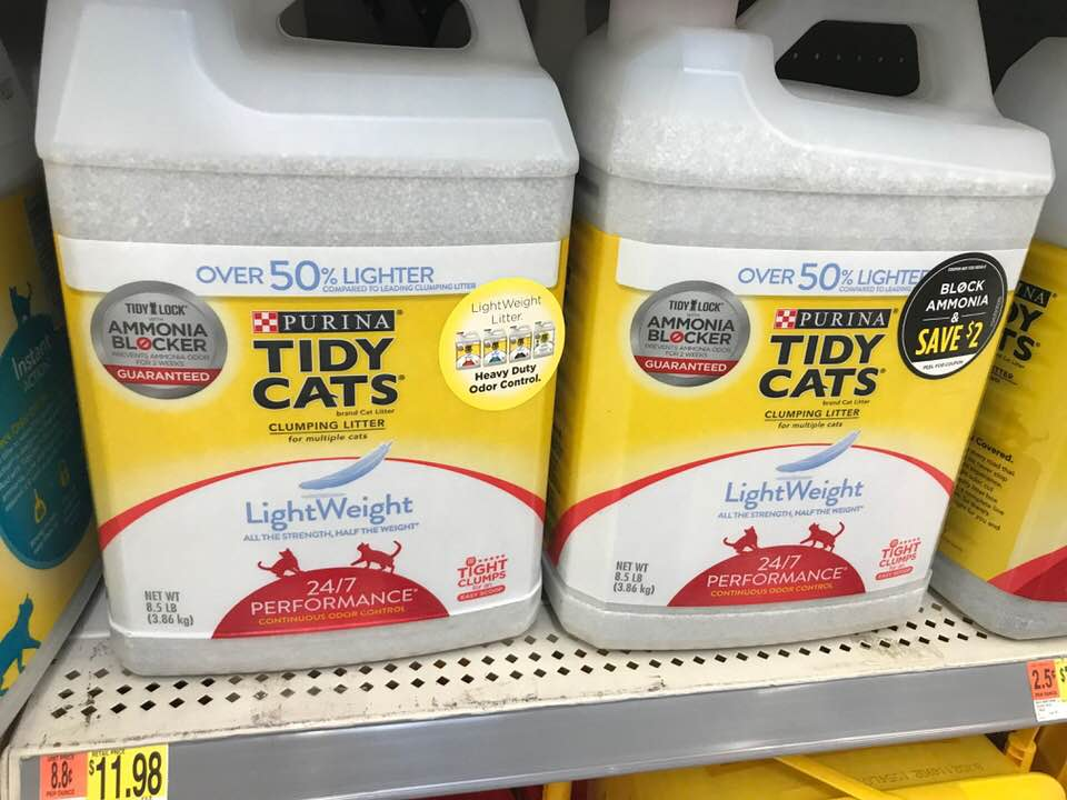 Purina One Stop Cat Shop at Walmart - Stock up, Save, and Educate Yourself