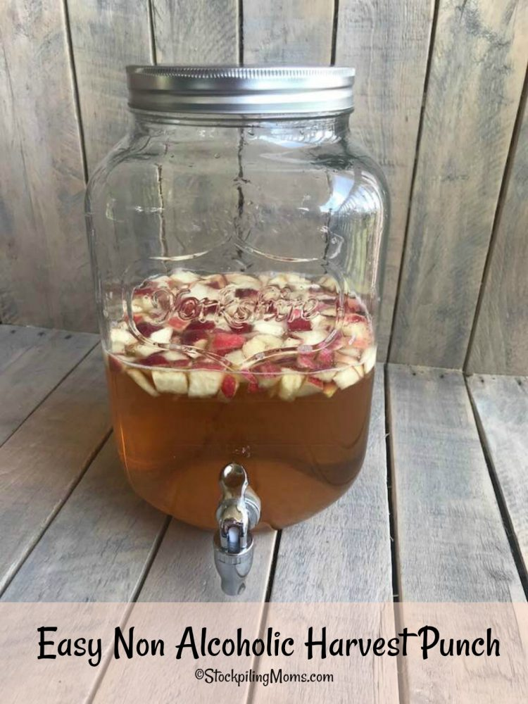 Easy Non Alcoholic Harvest Punch