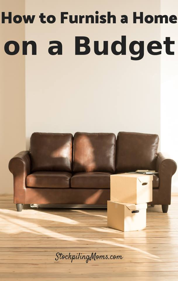 How To Furnish A Home On A Budget
