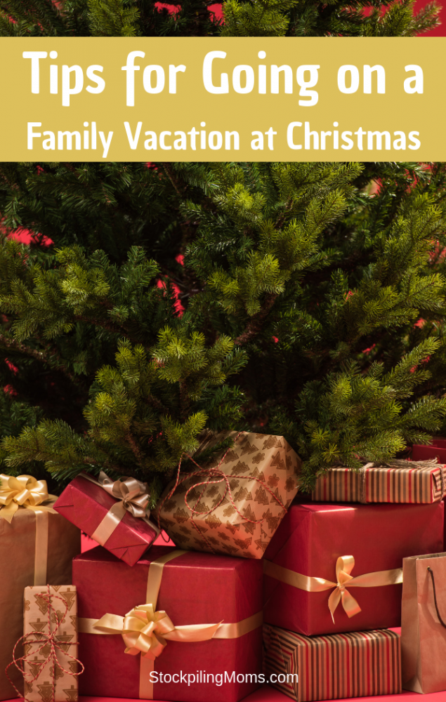 Tips For Going On A Family Vacation At Christmas
