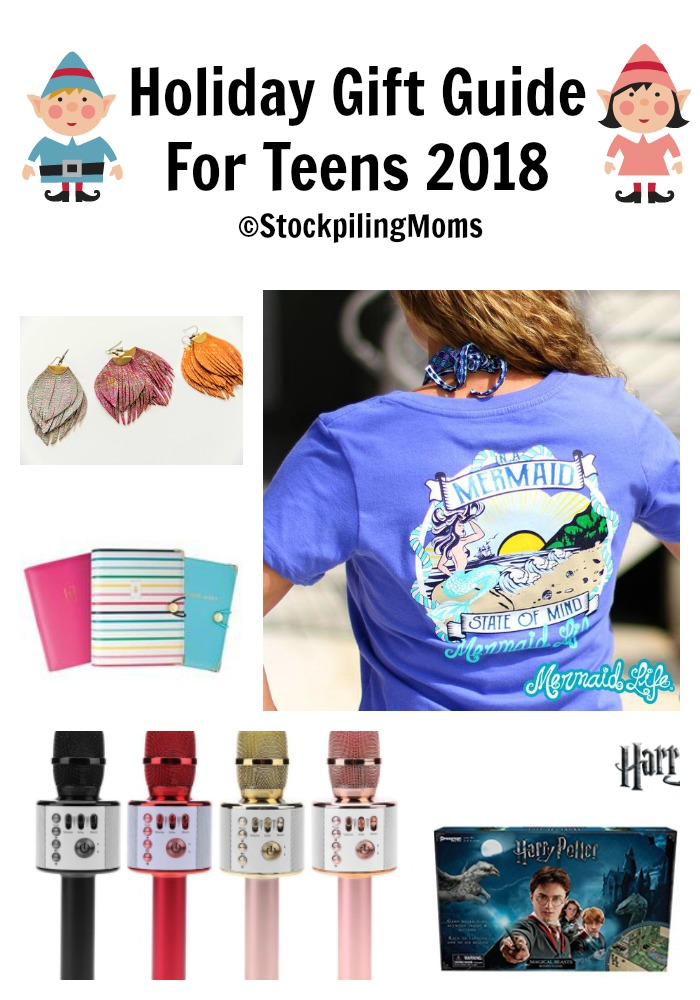 Christmas Gift Guide 2018.Holiday Gift Guide For Teens 2018 Stockpiling Moms
