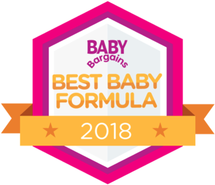 Parent's Choice is named the Best Baby Formula by Baby Bargains in 2018