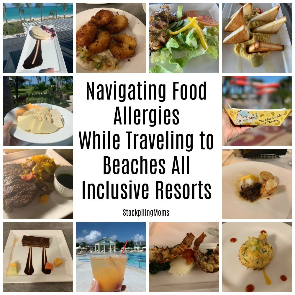 Navigating Food Allergies While Traveling to Beaches Resorts