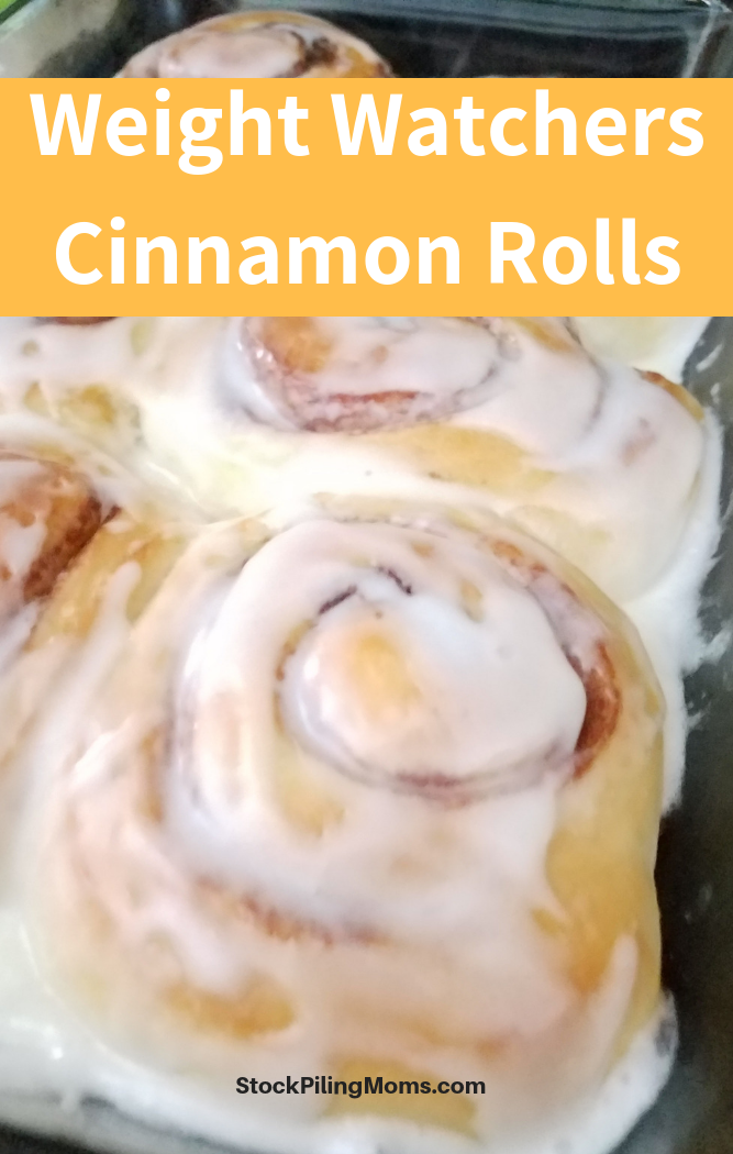 Weight Watchers Cinnamon Rolls Recipe are super easy to make and taste amazing!