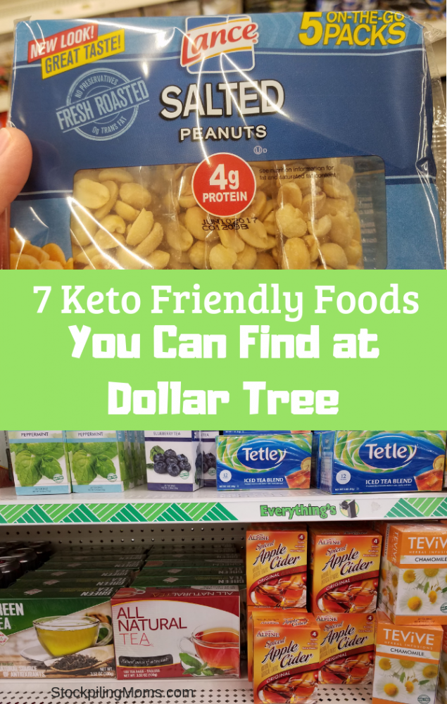 7 Keto Friendly Foods You Can Find at Dollar Tree