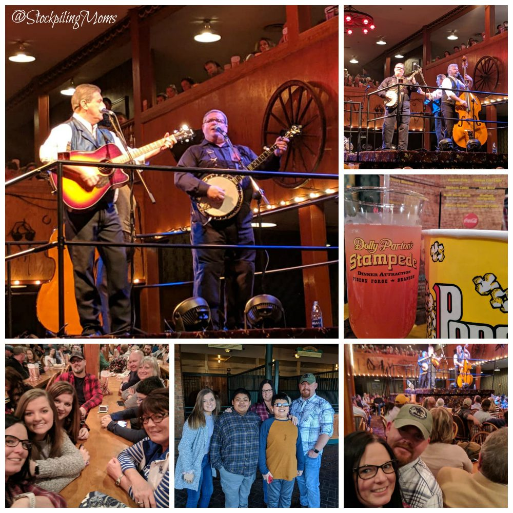 Family Fun At Dolly's Stampede Pigeon Forge Tennessee is the best entertainment, best food, best service, and best overall value.  Dolly's Stampede did not disappoint in any area!