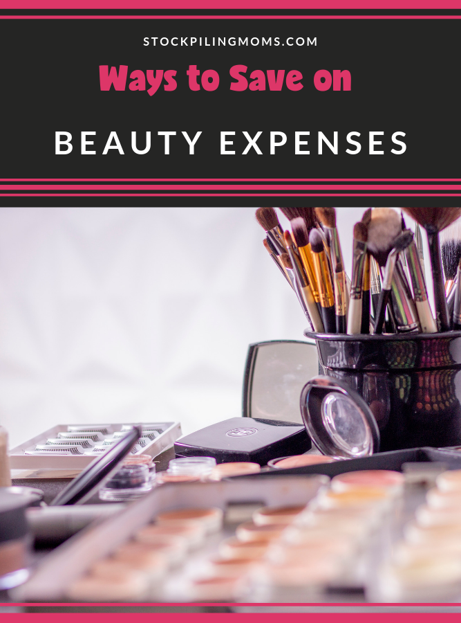 These Ways to Save on Beauty Expenses are just one way I like to save money while still feeling like I can get the products I love.