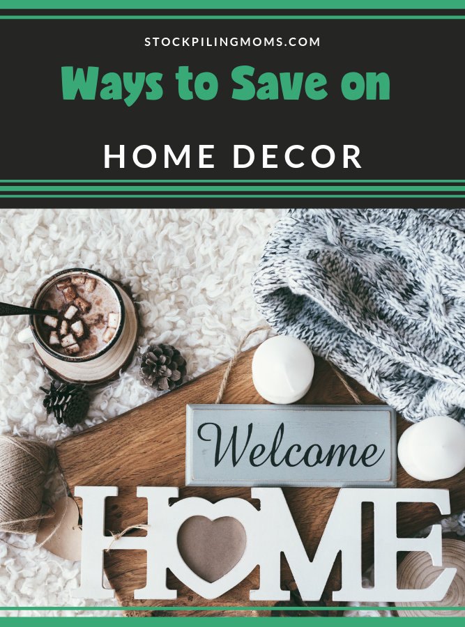These Ways to Save on Home Decor are amazing for keeping your home looking beautiful while also giving you the home you have always wanted.