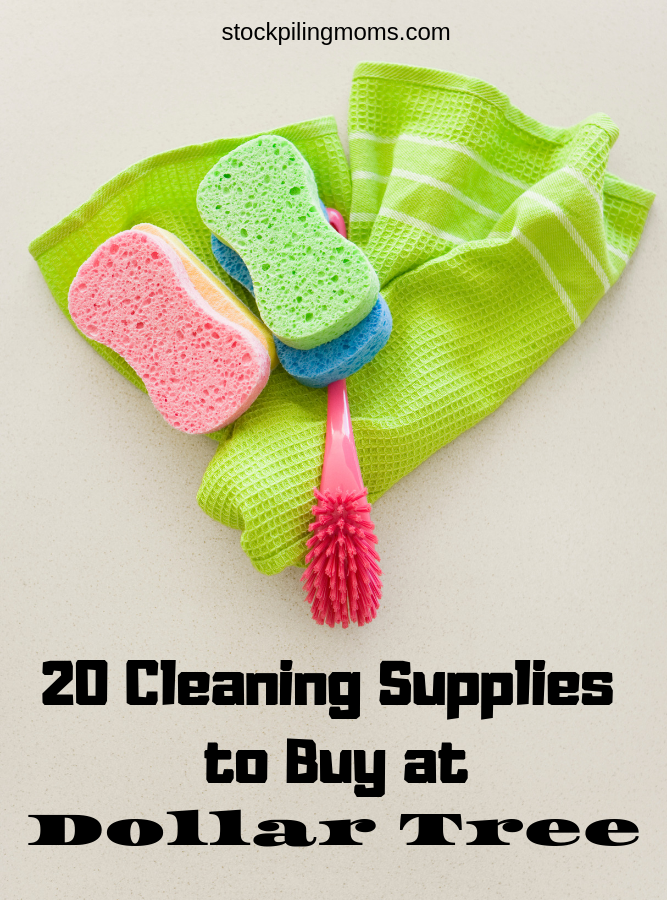 20 Cleaning Supplies to Buy at Dollar Tree