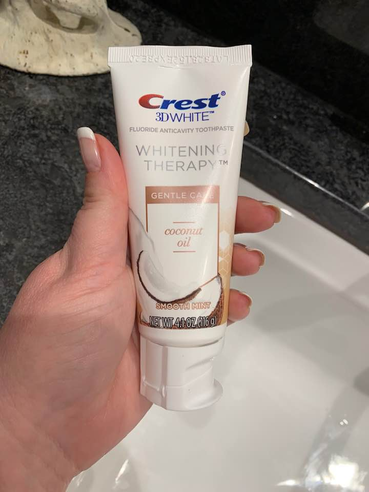 New Crest 3D White Whitening Therapy Toothpastes at Kroger