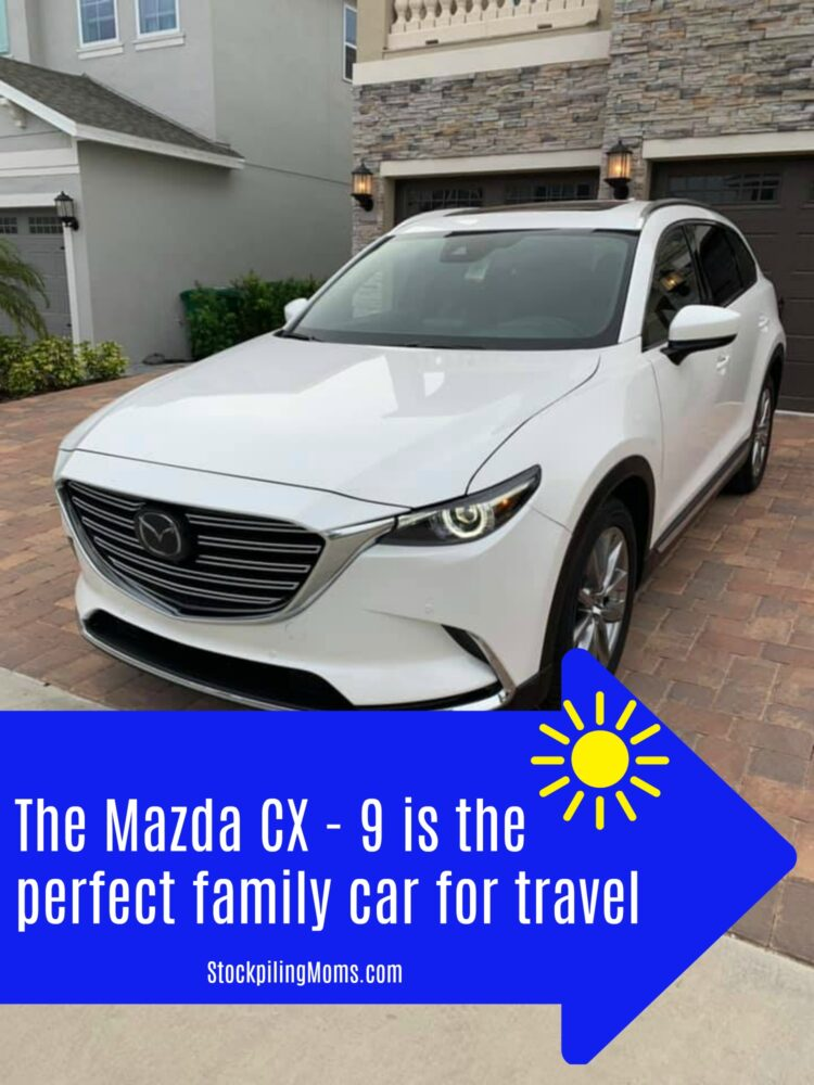 The Mazda Cx 9 Is The Perfect Family Car For Travel Stockpiling Moms