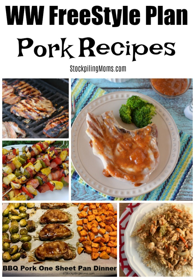 Delicious Weight Watchers FreeStyle Plan Pork Recipes