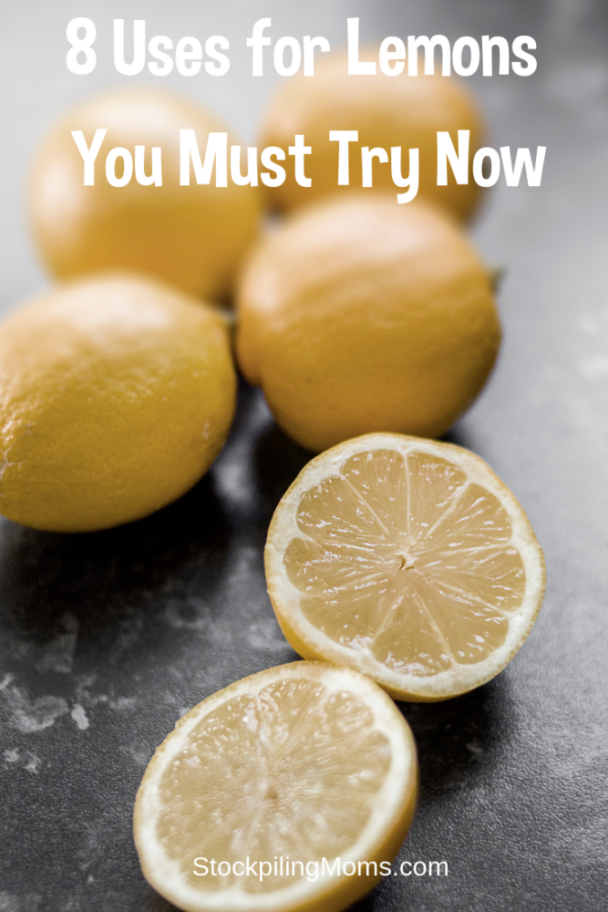 8 Uses for Lemons You Must Try Now