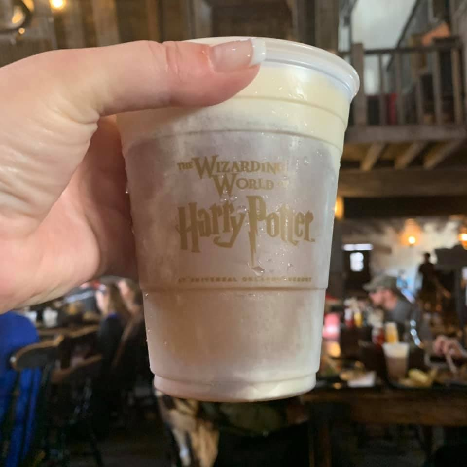 Is butterbeer gluten free? Yes, it is! The Best Gluten Free Food at Universal Studios Orlando