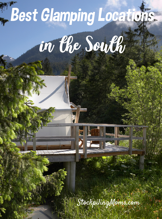 Have you ever enjoyed the luxury of glamping at some great places before? Spending a week with family and friends, at a campground that feels like home, is a wonderful outdoor experience you won't forget. Here are some great places to go glamping in the south that offer unique experiences, while others provide some great scenery.