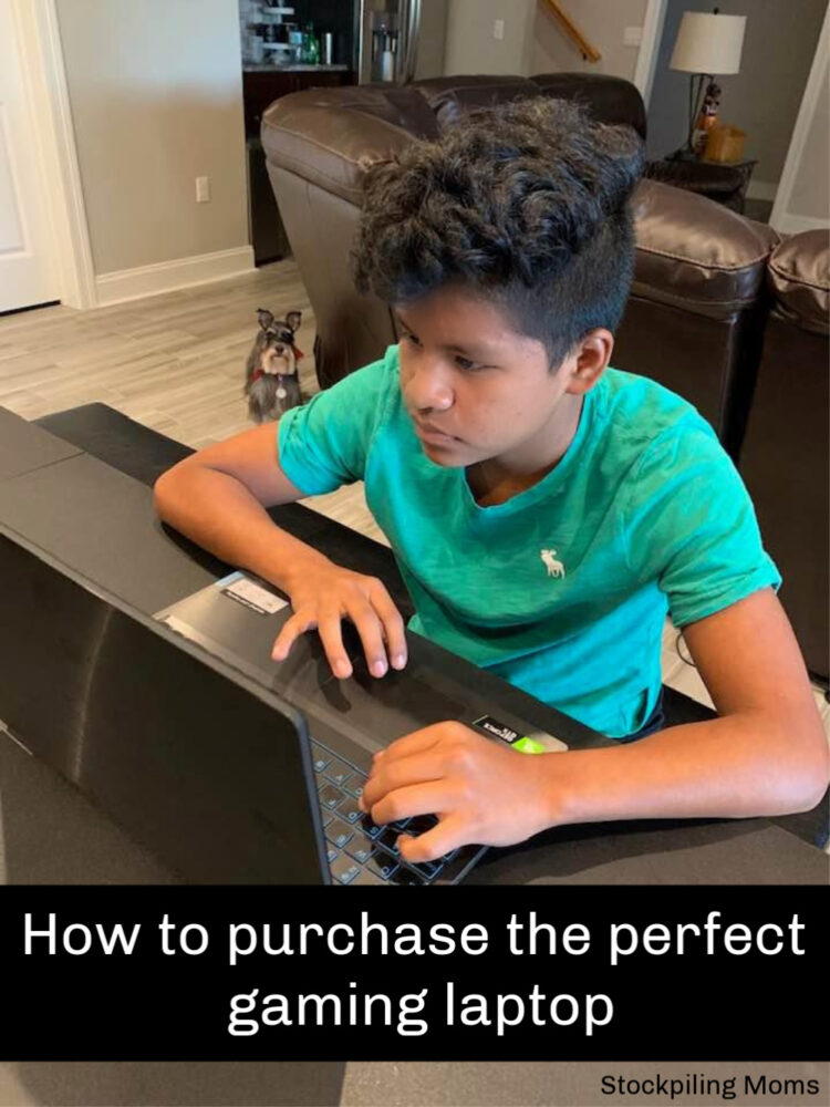 How to purchase the perfect gaming laptop
