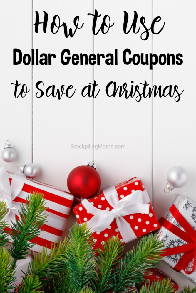 How to Use Dollar General Coupons