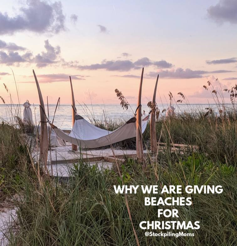 Why we are giving Beaches for Christmas