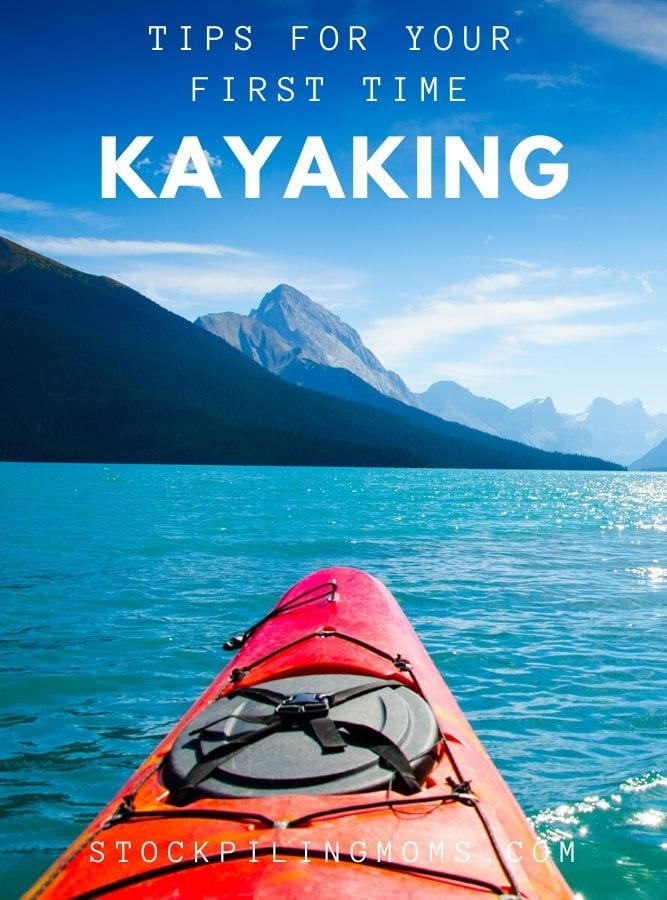 Tips for First Time Kayaking